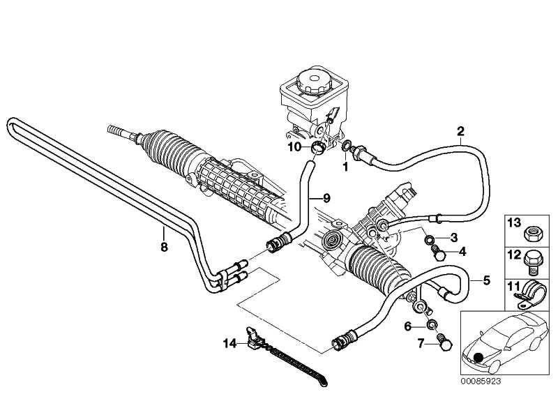 Kühlerrücklaufleitung  5er  (32411096052)