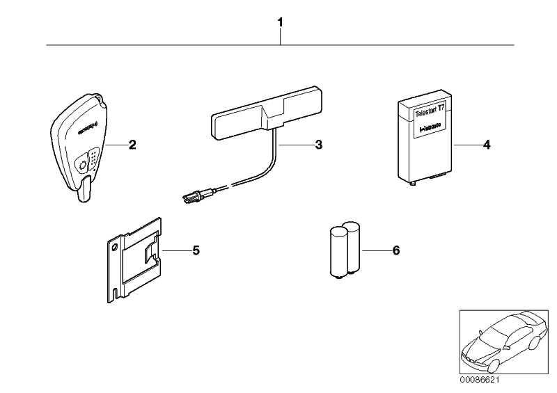 Batterie T70/T80/T90 3er 5er 7er X5 X6  (64120008723)