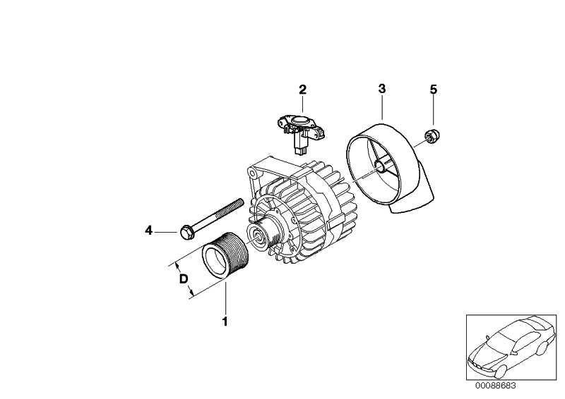 Austausch Generator 110A            1er 3er 5er X1 Z4  (12317533268)