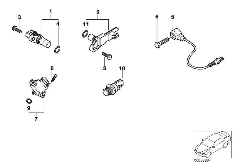 Saugrohrdruckfühler  MINI  (12140872679)