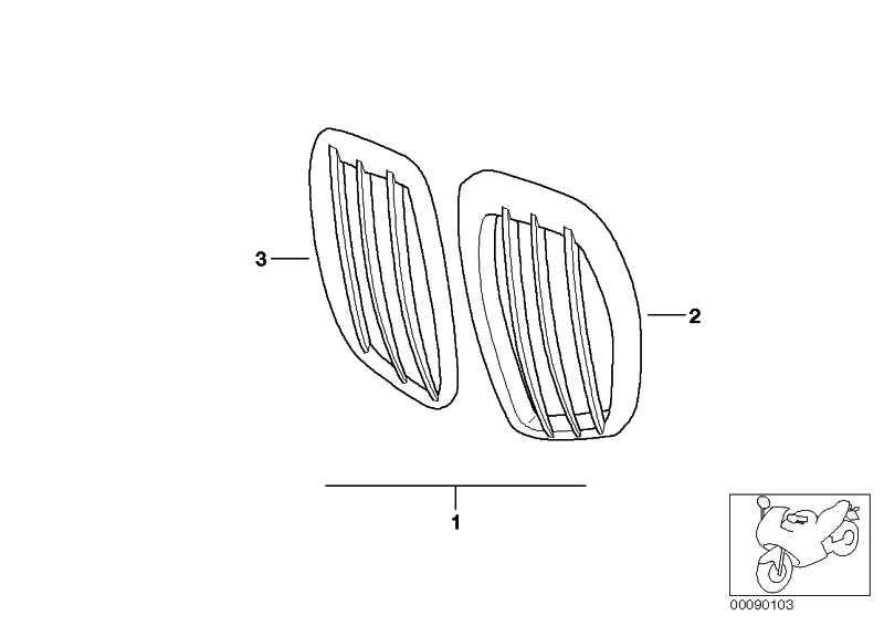 Satz Einlassgitter chrom   (71607653766)