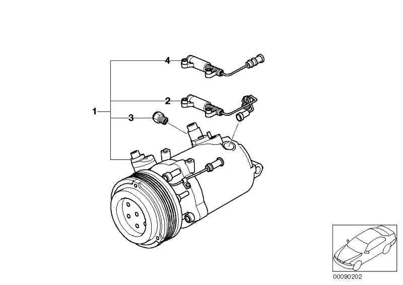 Klimakompressor  3er X3  (64529145353)