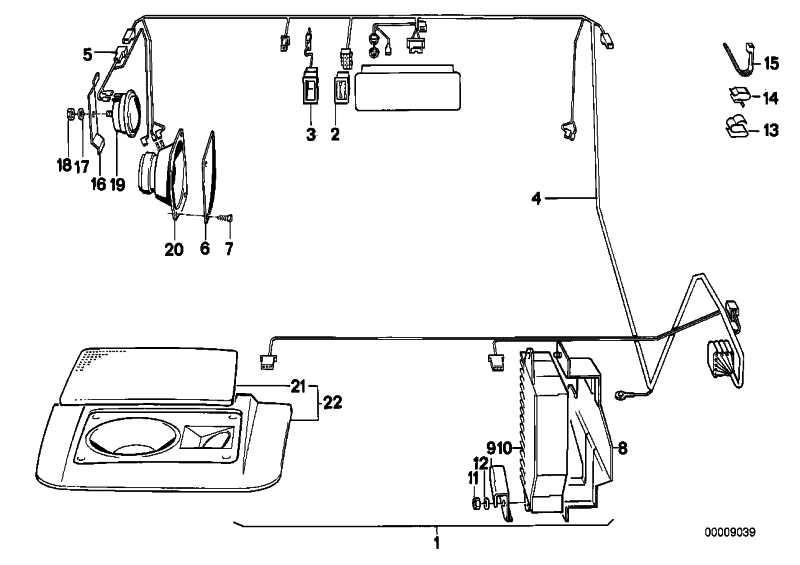Lautsprecher SOUND SYSTEM    5er 6er  (65131377771)