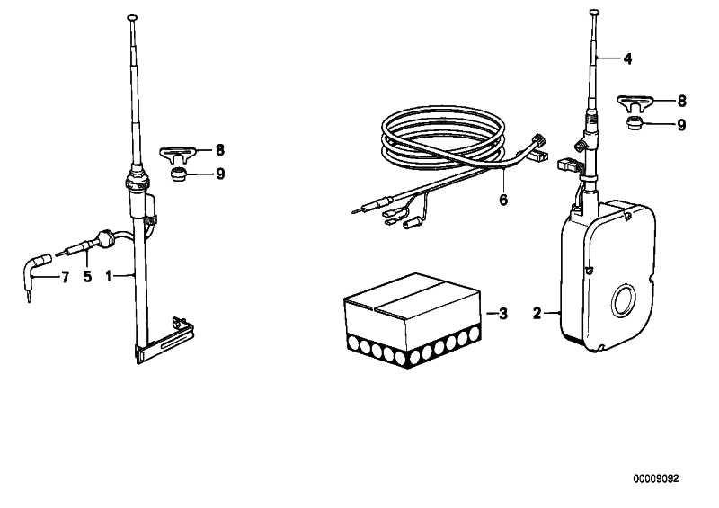 Kabelsatz hinten 5400MM          5er 7er 6er 3er  (65221363589)