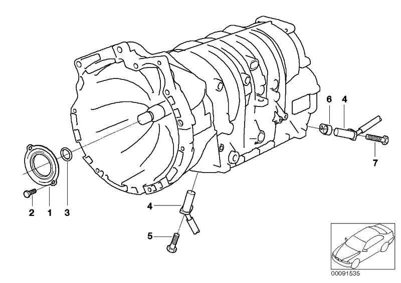 O-Ring Turbinenwelle  3er 5er X3 X5 Z3  (24121422247)