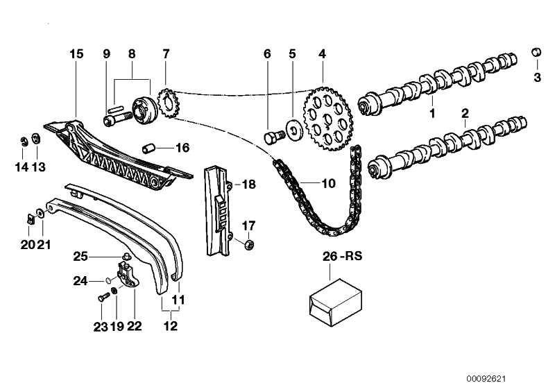 Reparatursatz Steuertriebsbeläge 60000 KM         (11317665882)