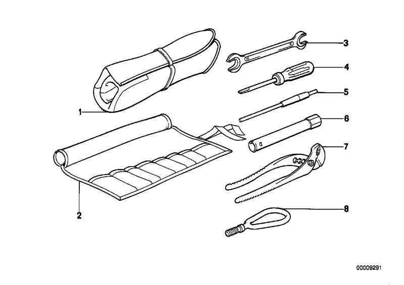 Werkzeugtasche  3er  (71111179919)