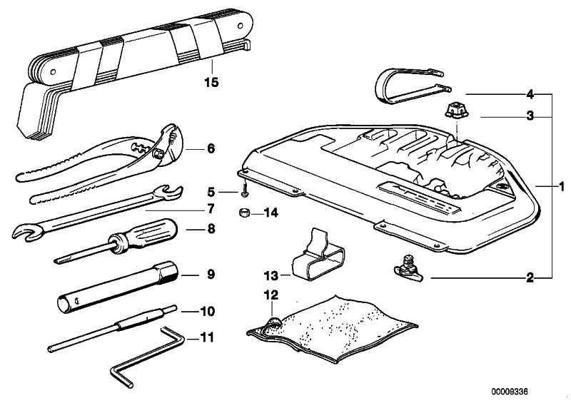 Werkzeugkasten  5er 7er 8er  (71111182774)