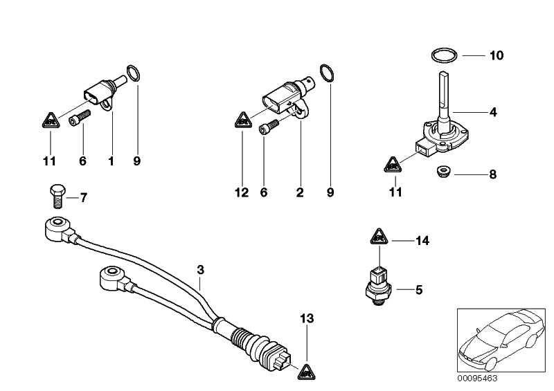 Öldrucksensor  1er 3er 5er 6er X1 X3 X5 Z4  (12617549796)