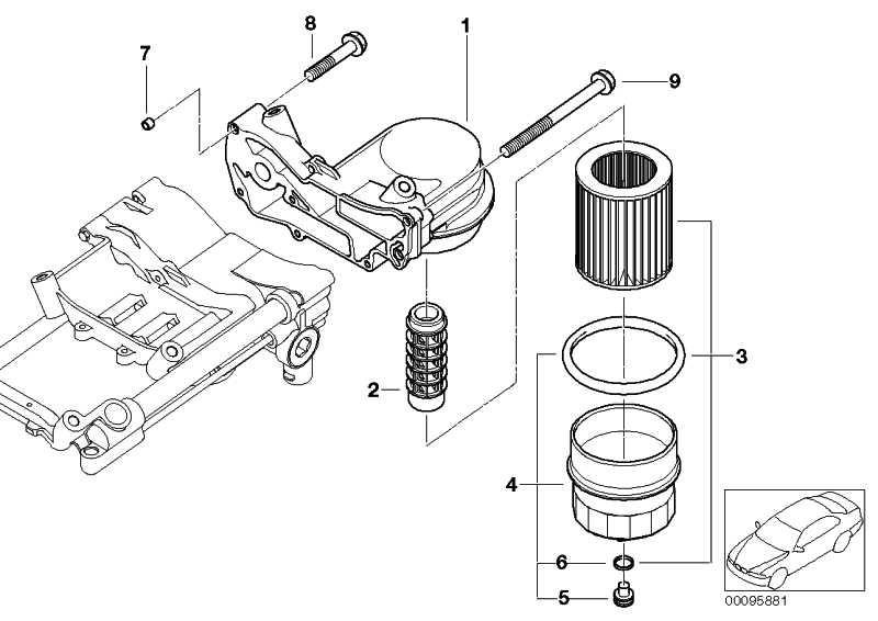 Sechskantschraube mit Scheibe M6X40 ZNNIV SI 5er 6er 7er X5  (07119904525)