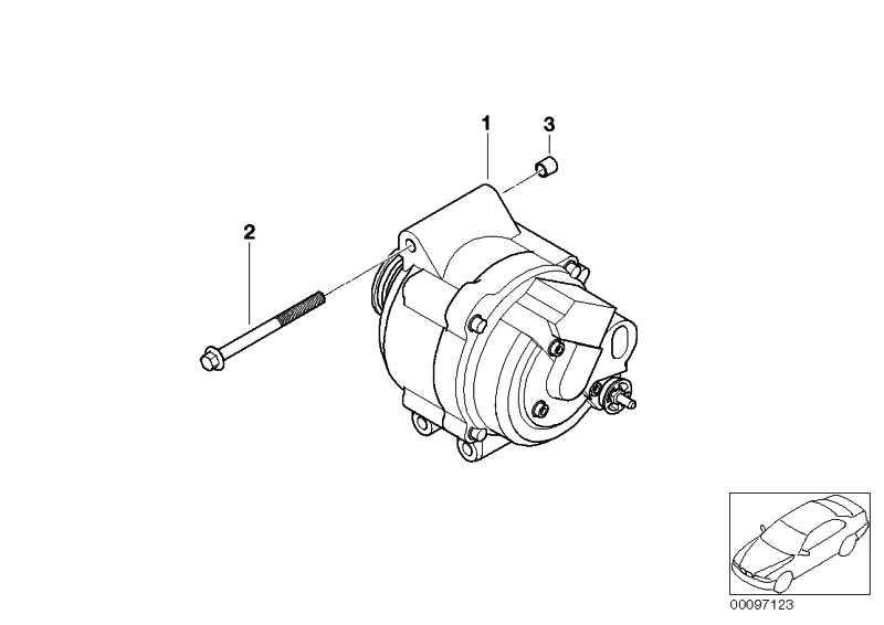 Austausch Generator 110A            MINI  (12317550997)