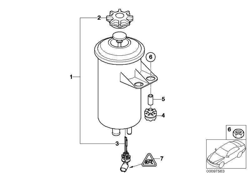 Ölbehälter  5er 6er 7er X5 X6  (32416782538)