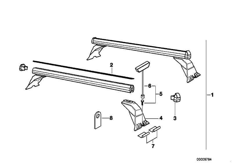 Satz Schlüssel mit Schrauben M6X16           3er 5er 7er  (82799405589)