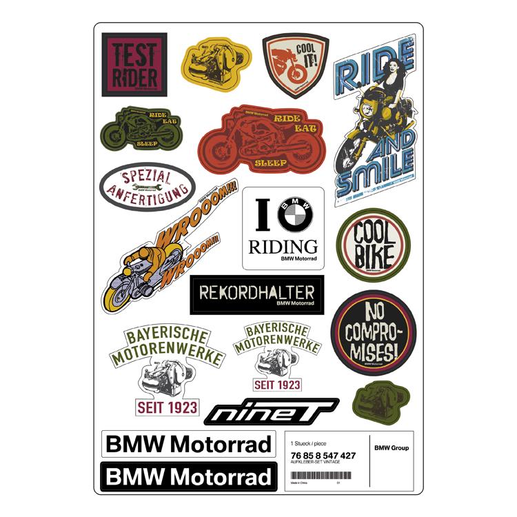 BMW Aufkleber-Set Vintage