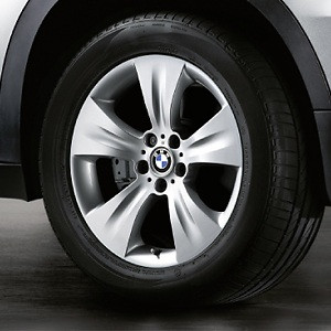 BMW Kompletträder Sternspeiche 213 silber 19 Zoll X5 E70