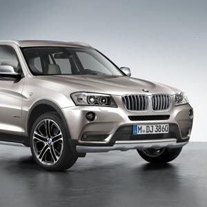 BMW Frontziergitter Titan X3 F25