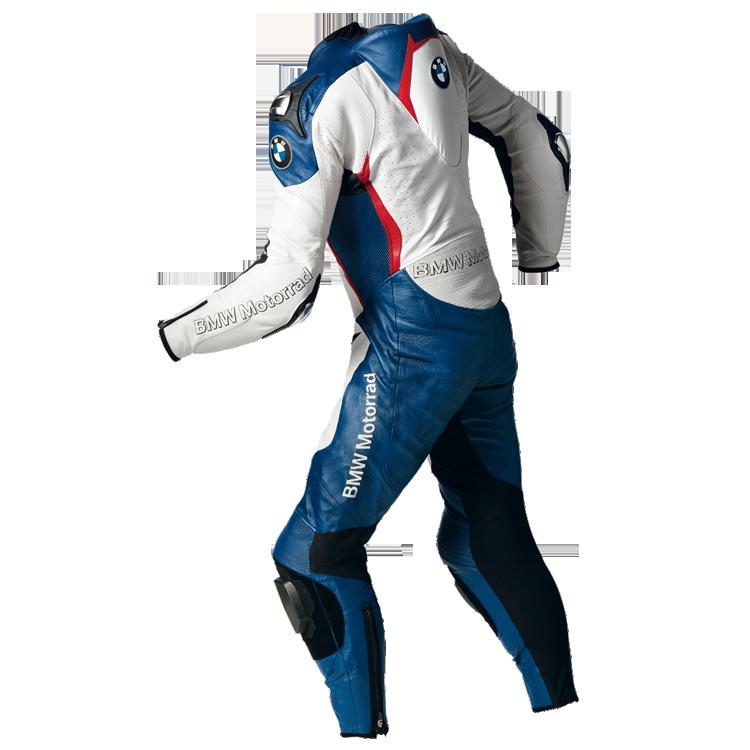 BMW Anzug DoubleR für Herren, blau/weiß/rot
