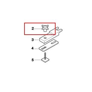 Klemmschraube für Adaption original BMW Dachbox