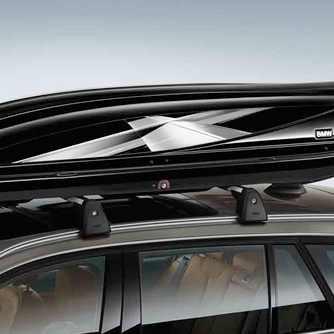 BMW Dekorstreifen X-Line für Dachbox 320