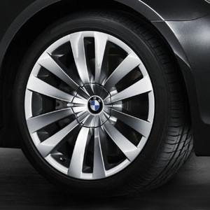 BMW Alufelge Doppelspeiche 253 10J x 20 ET 41 Silber Hinterachse BMW 7er F01 F02 F04 5er F07