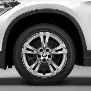 BMW Alufelge Doppelspeiche 385 reflexsilber 7,5J x 17 ET 52 Vorderachse / Hinterachse BMW X1 F48