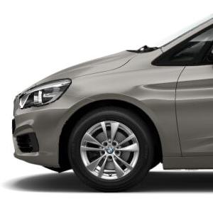 BMW Alufelge Doppelspeiche 476 reflexsilber 7J x 16 ET 52 Vorderachse / Hinterachse BMW 2er F45 F46