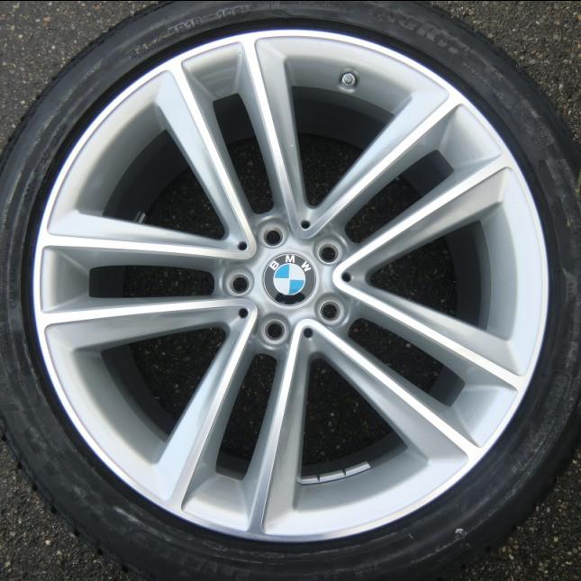 BMW Winterkompletträder Doppelspeiche 630 bicolor ferricgrey 19 Zoll 7er G11 G12 RDCi