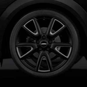 MINI Kompletträder Double Spoke Challenge 534 schwarz matt 18 Zoll MINI F55 F56 F57 RDCi