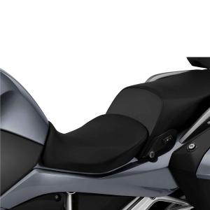 Fahrersitz niedrig, schwarz (Sitzhöhe: 760 / 780 mm / Schrittbogenlänge: 1.740 / 1.780 mm)