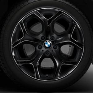 BMW Alufelge Y-Speiche 214 10J x 20 ET 40 Schwarz Vorderachse BMW X5 E70 X6 E71 E72