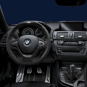 BMW M Performance Lenkrad Alcantara mit Carbonblende und Race-Display 1er F20 F21 2er F22 3er F30 F31 F34GT 4er F32 F33