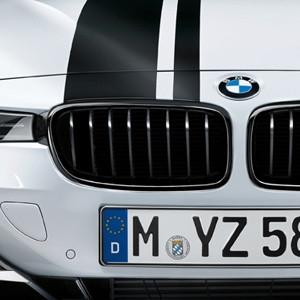 BMW M Performance Frontziergitter Schwarz, 3er F30 F31