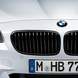 BMW M Performance Frontziergitter Schwarz, 5er F10 F11