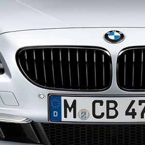 BMW M Performance Frontziergitter Schwarz 6er F06 F12 F13