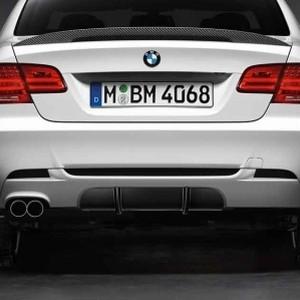 BMW Performance Aerodynamik-Diffusorpaket 3er Coupe E92 und Cabrio E93 mit M Sportpaket
