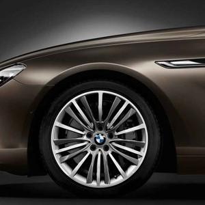 BMW Alufelge W-Speiche 423 8,5J x 19 ET 33 Silber Vorderachse / Hinterachse BMW 6er F06 F12 F13 5er F10 F11