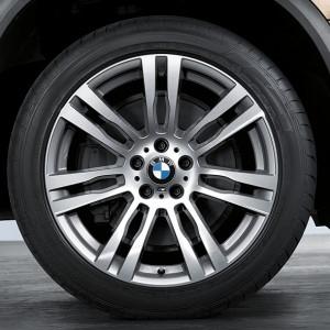 BMW Alufelge M Doppelspeiche 333 11J x 20 ET 35 Spacegrau Hinterachse BMW X5 E70