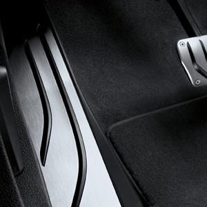 BMW M Performance Fußstütze Edelstahl 5er F10 F11/ 6er F06 F12 F13