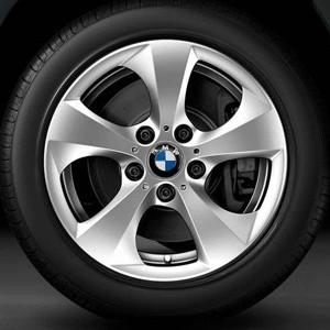 BMW Alufelge Streamline 306 7,5J x 17 ET 34 Silber Vorderachse / Hinterachse (linke Fahrzeugseite) BMW X1 E84