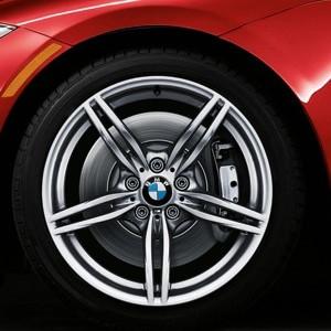 BMW Alufelge M Doppelspeiche 326 8J x 19 ET 29 Silber Vorderachse BMW Z4 E89