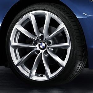 BMW Alufelge V-Speiche 296 9J x 19 ET 40 Silber Hinterachse BMW Z4 E89