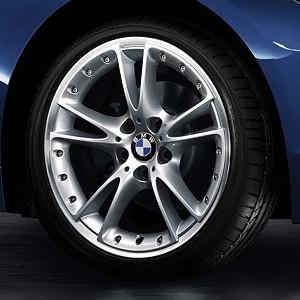 BMW Alufelge V-Speichen-Verbundrad 294 8,5J x 18 ET 40 Silber Hinterachse BMW Z4 E89