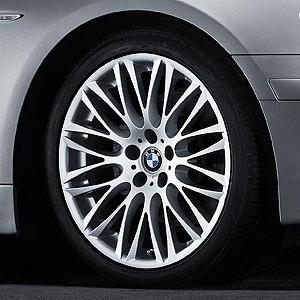 BMW Alufelge Y-Speiche 149 10J x 20 ET 24 Silber Hinterachse BMW 7er E65 E66