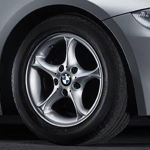 BMW Alufelge Sternspeiche 102 7J x 16 ET 47 Silber Vorderachse / Hinterachse BMW Z4 E85