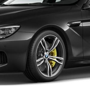 BMW Alufelge M Doppelspeiche 343 9,5J x 20 ET 31 Silber Vorderachse BMW 6er F06 F12 F13