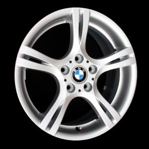 BMW Alufelge Sternspeiche 181 7,5J x 18 ET 49 Silber Vorderachse BMW 1er E81 E87