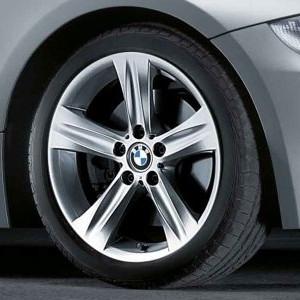 BMW Alufelge Sternspeiche 203 8,5J x 18 ET 50 Silber Hinterachse BMW Z4 E85 E86