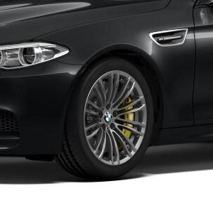 BMW Alufelge M Doppelspeiche 345 10J x 19 ET 34 Ferricgrey Hinterachse BMW 5er F10 M5