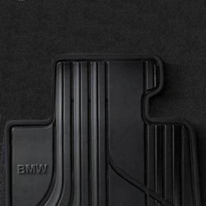 BMW Satz Gummimatten BASIS hinten anthrazit 3er F34GT