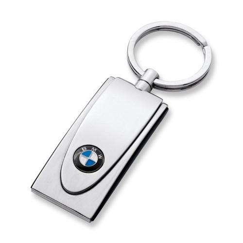 BMW Schlüsselanhänger Design silber